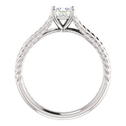 Rope Solitaire Ring