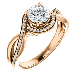 Bypass Halo Style Enement Ring