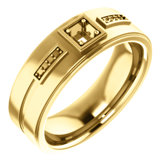 Men's Accented Ring