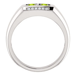 Men's Two-Stone Ring