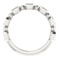 Bezel-Set Anniversary Band