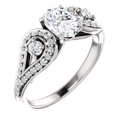 Vintage-Style Engagement Ring