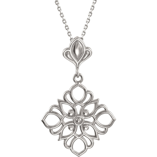 Sterling Silver Decorative 18