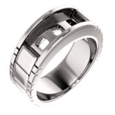 Men's Three-Stone Ring
