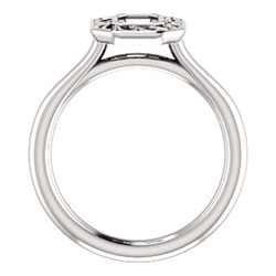Bezel Set Solitaire Ring