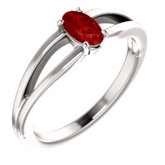 Solitaire Youth Ring