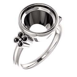 Bezel Set Ring