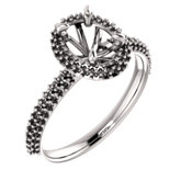 Halo-Style Engagement Ring or Band