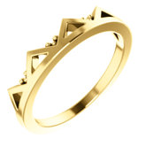 Geometric Stackable Ring