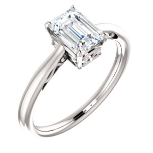 Solitaire Engraved - $609