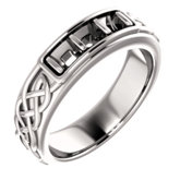 Men's Celtic-Inspired Ring