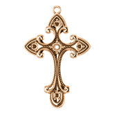 Vintage-Inspired Cross Dangle