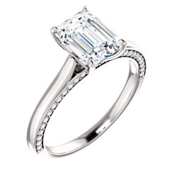 Accented Enement Ring