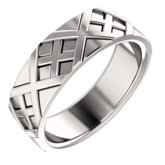 X-Patterned Ring