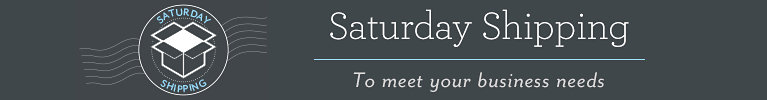 Saturday Shipping | To meet your business needs