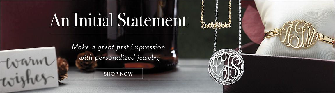 An Initial Statement Make A Great First Impression With Personalized Jewelry