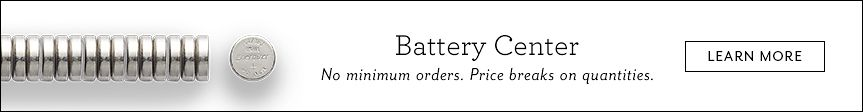 Battery Center | No minimum orders. Price breaks on quantities.