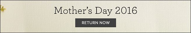 Return to Mother's Day Banner
