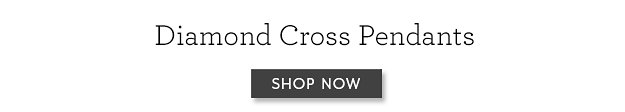430 Diamond Cross Pendant Banner
